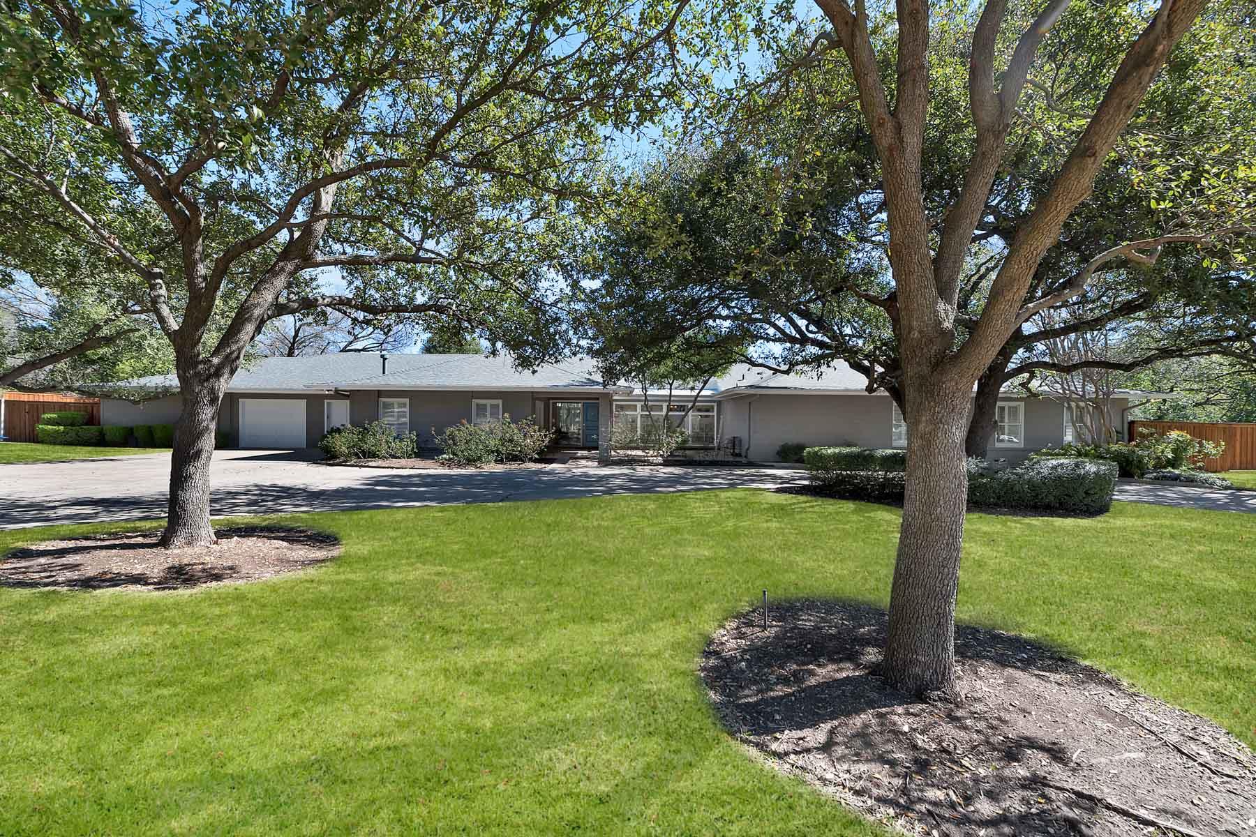 Tek Ailelik Ev için Satış at Ridglea, Mid-Century Modern Ranch 4225 Ridgehaven Rd Fort Worth, Teksas, 76116 Amerika Birleşik Devletleri