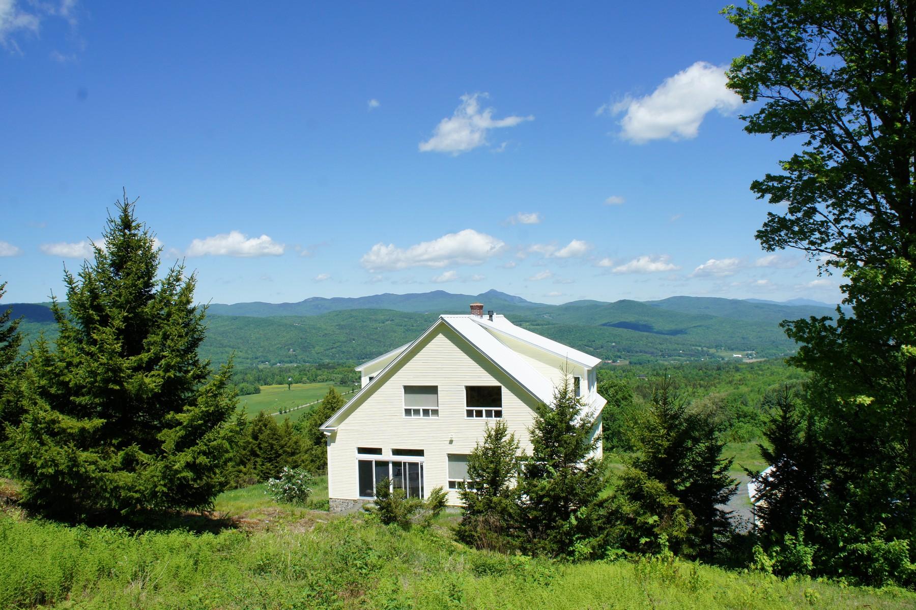 Casa para uma família para Venda às 884 Palmer Hill Road, Waitsfield 884 Palmer Hill Rd Waitsfield, Vermont, 05673 Estados Unidos