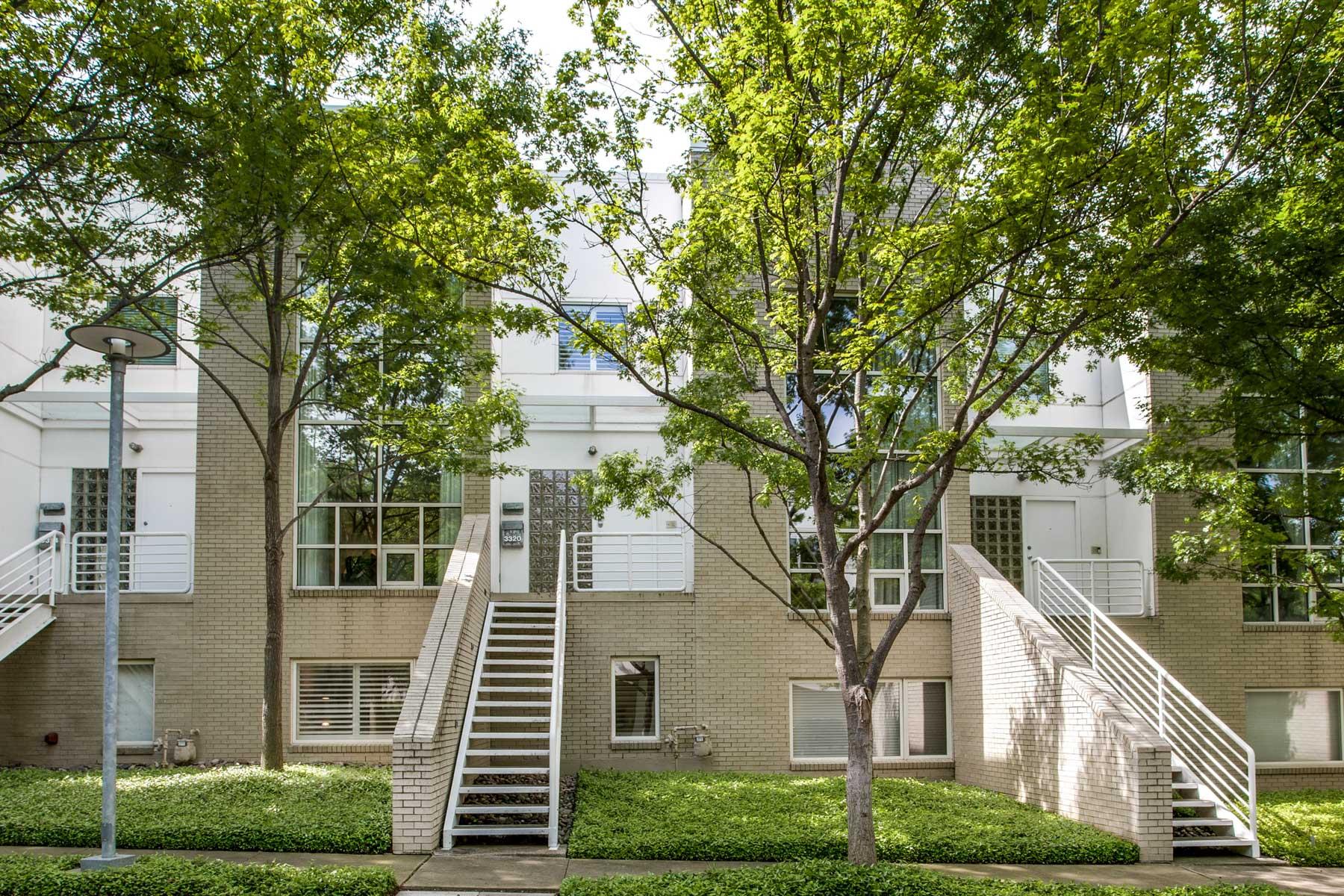 タウンハウス のために 売買 アット Contemporary Townhouse Near Katy Trail 3320 Miro Pl Dallas, テキサス, 75204 アメリカ合衆国