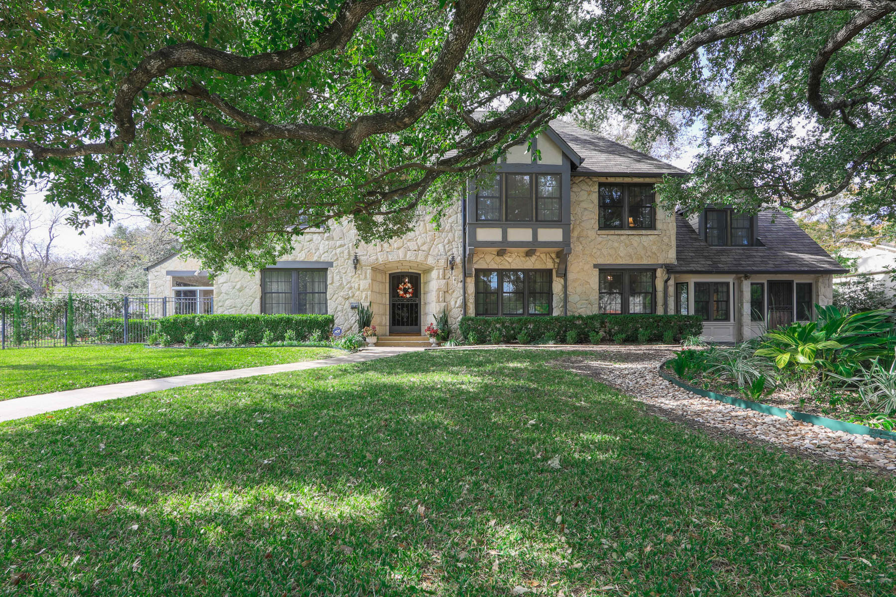 Single Family Home for Sale at Stunning Olmos Park Tudor 303 W El Prado Dr San Antonio, Texas 78212 United States