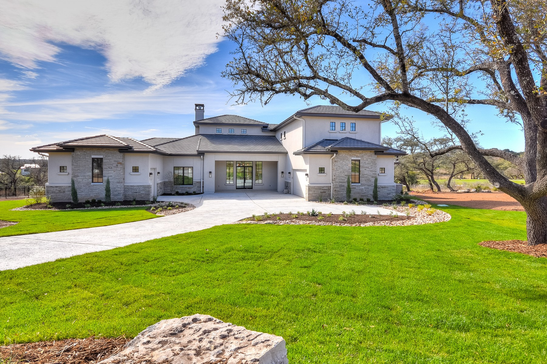 Single Family Home for Sale at New Home in the Gated Community of Belvedere 8508 Rollins Dr Austin, Texas, 78738 United States