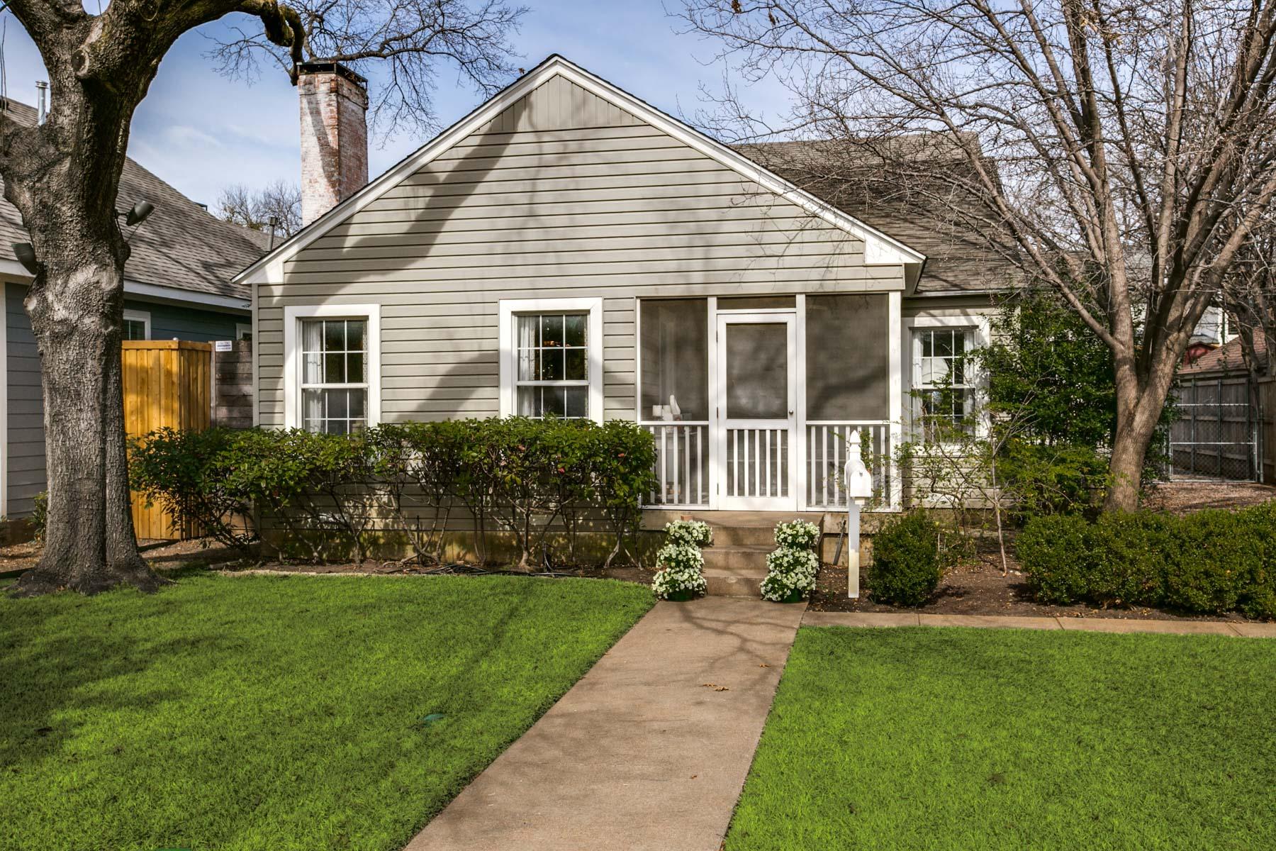 Einfamilienhaus für Verkauf beim Exceptional Briarwood Cottage 5011 Stanford Ave Dallas, Texas, 75209 Vereinigte Staaten