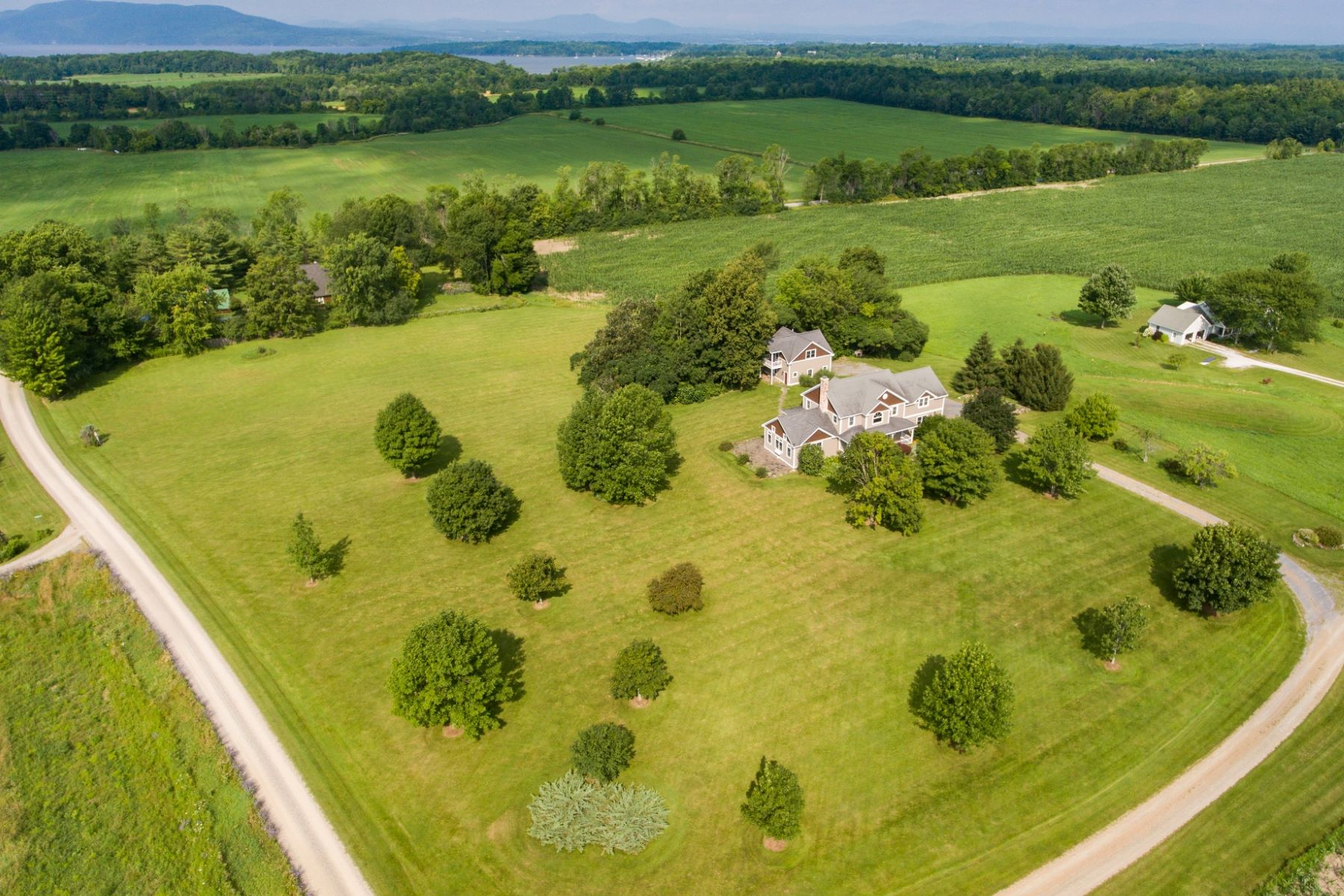Single Family Home for Sale at Classic Charlotte Vermont Home on 5 Acres 37 Coyote Ln Charlotte, Vermont, 05445 United States