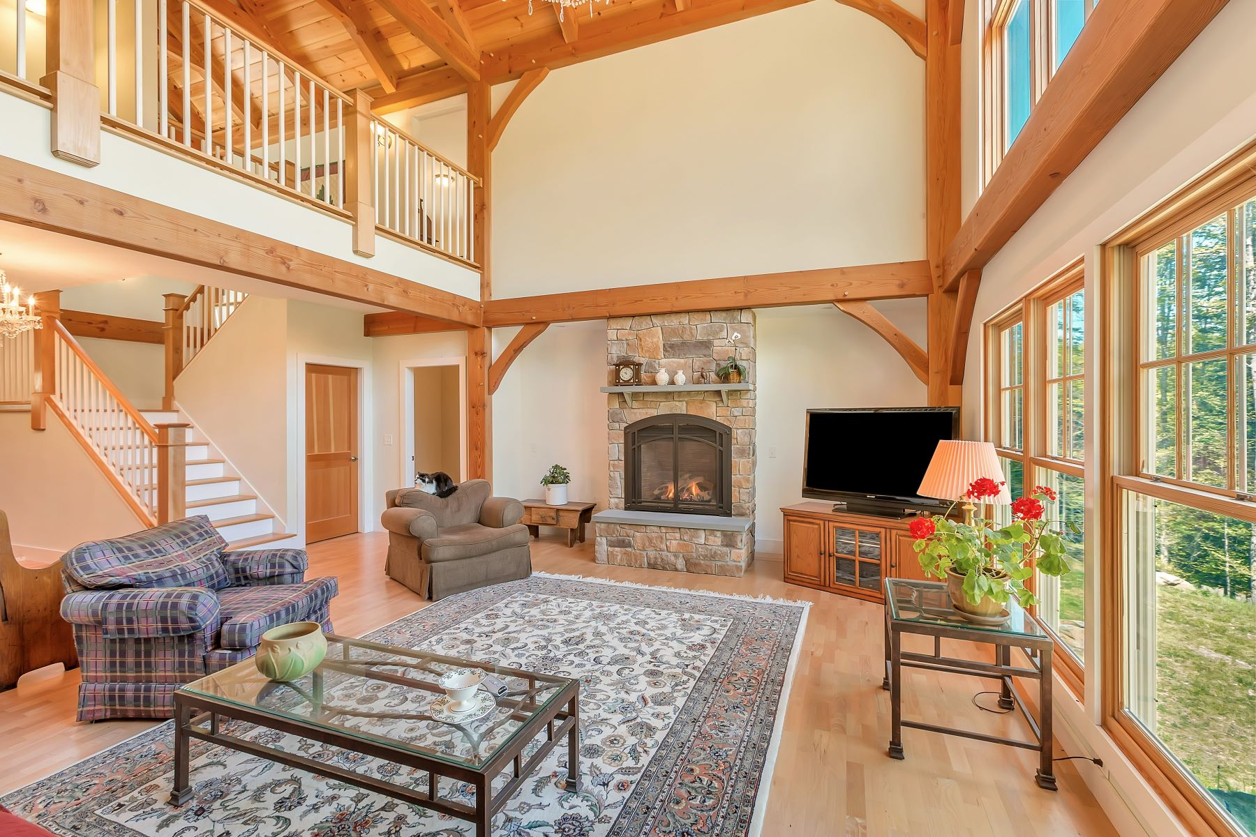 Single Family Home for Sale at THETFORD POST AND BEAM 1675 Sawnee Bean Rd, Thetford, Vermont, 05075 United States