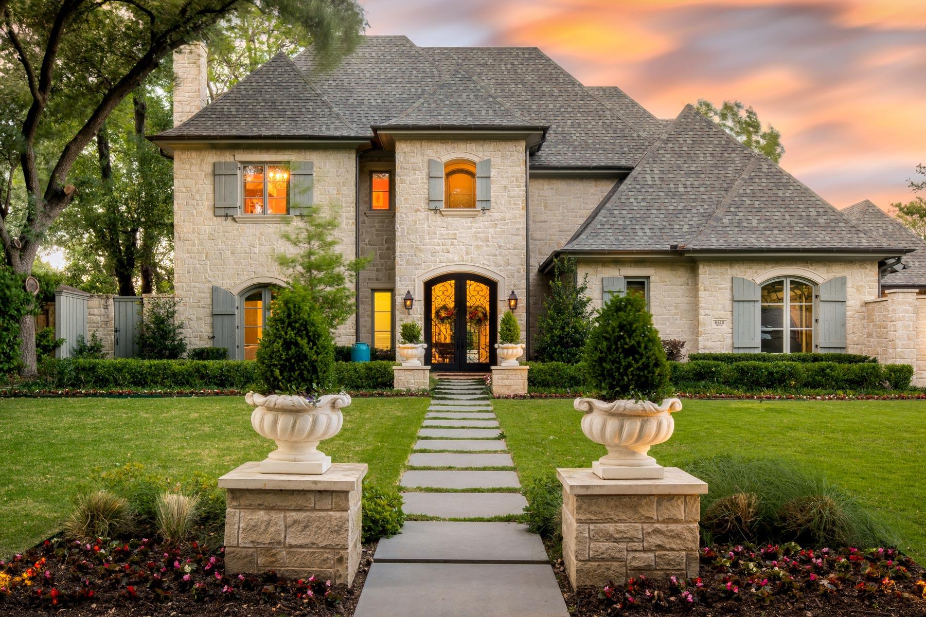 一戸建て のために 売買 アット Preston Hollow Traditional 6415 Desco Dr Dallas, テキサス, 75225 アメリカ合衆国