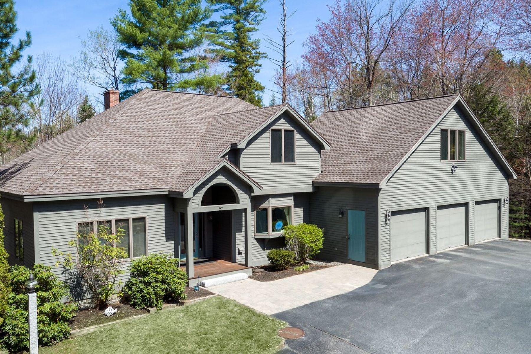 独户住宅 为 销售 在 Contemporay on Eastham golf course 57 Greensward 格兰瑟姆, 新罕布什尔州, 03753 美国