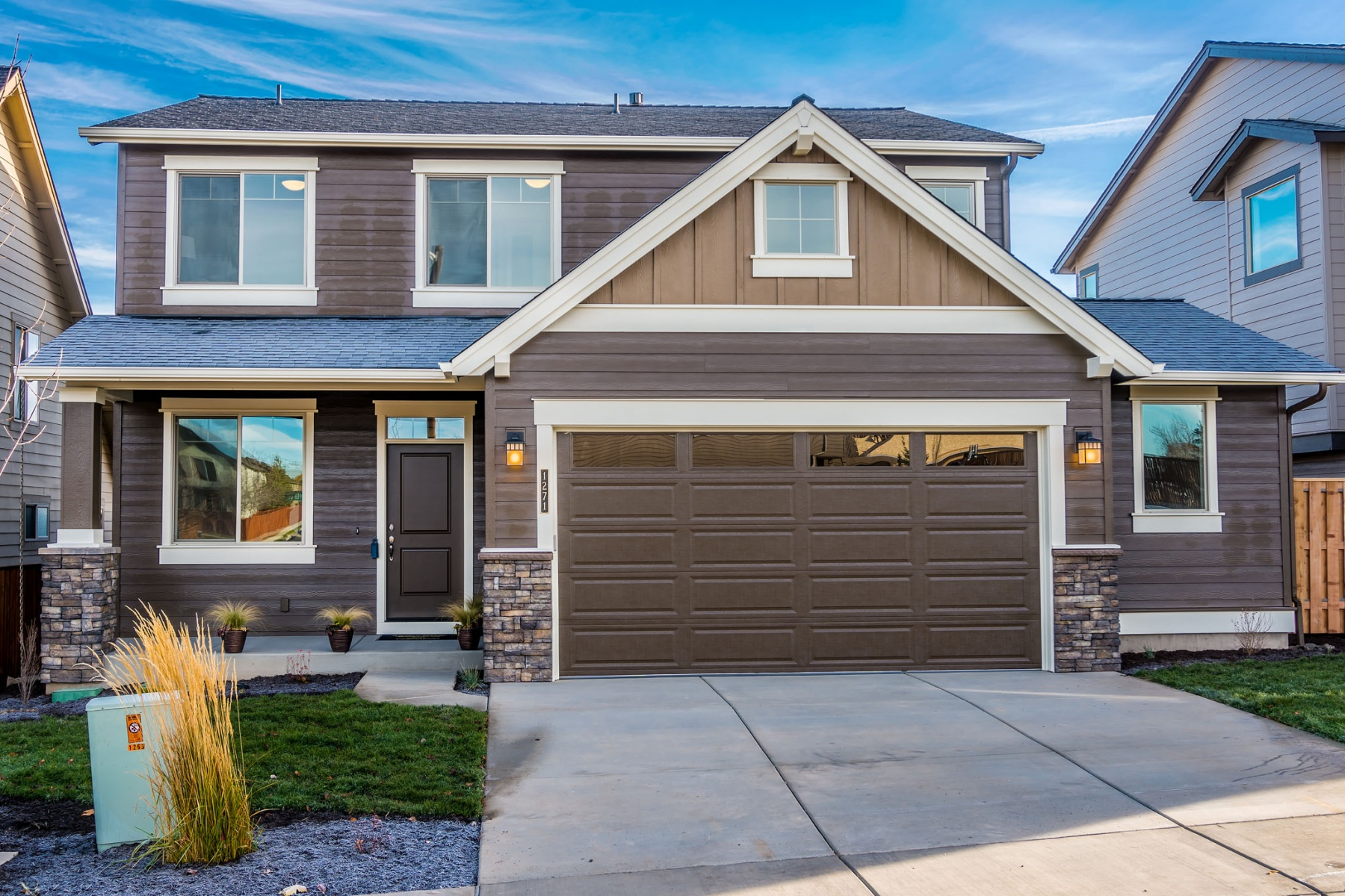 Single Family Home for Sale at New Construction in Ochoco Pointe 840 NE Steins Pillar Dr Lot 92 Prineville, Oregon, 97754 United States
