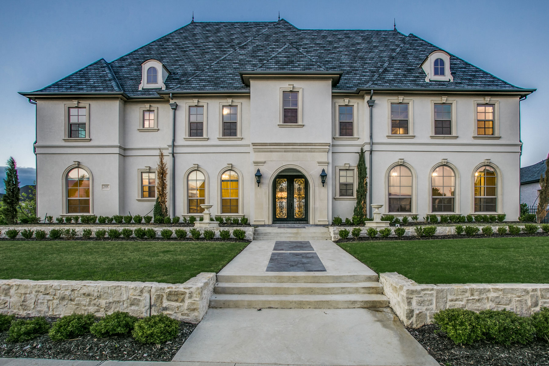 Single Family Home for Sale at Pristine Estate in Gated Community 3608 Broadmoor Way Frisco, Texas 75033 United States