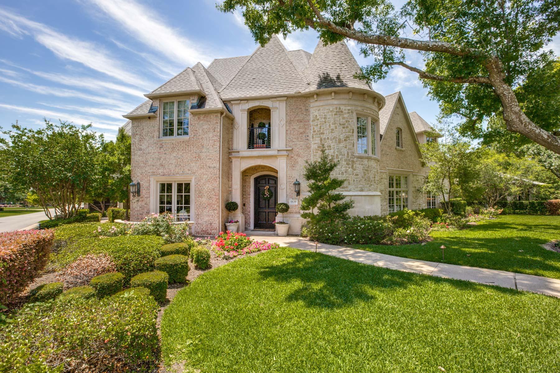 Tek Ailelik Ev için Satış at Extraordinary Custom Home 6630 Lakehurst Ave Dallas, Teksas, 75230 Amerika Birleşik Devletleri