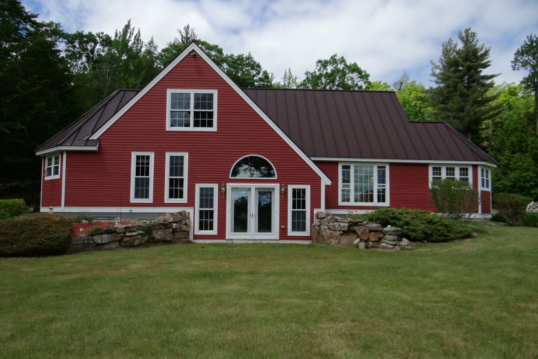 Single Family Home for Sale at Energy efficient with passive solar 135 Gove Rd Newport, New Hampshire, 03773 United States