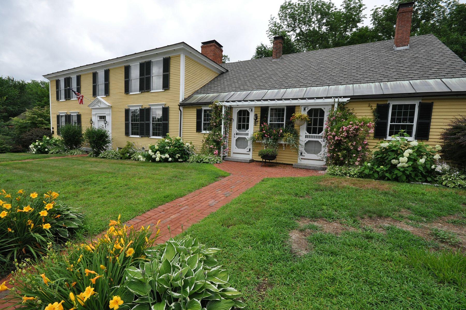 Частный односемейный дом для того Продажа на 1 Main St, Francestown Francestown, Нью-Гэмпшир, 03043 Соединенные Штаты
