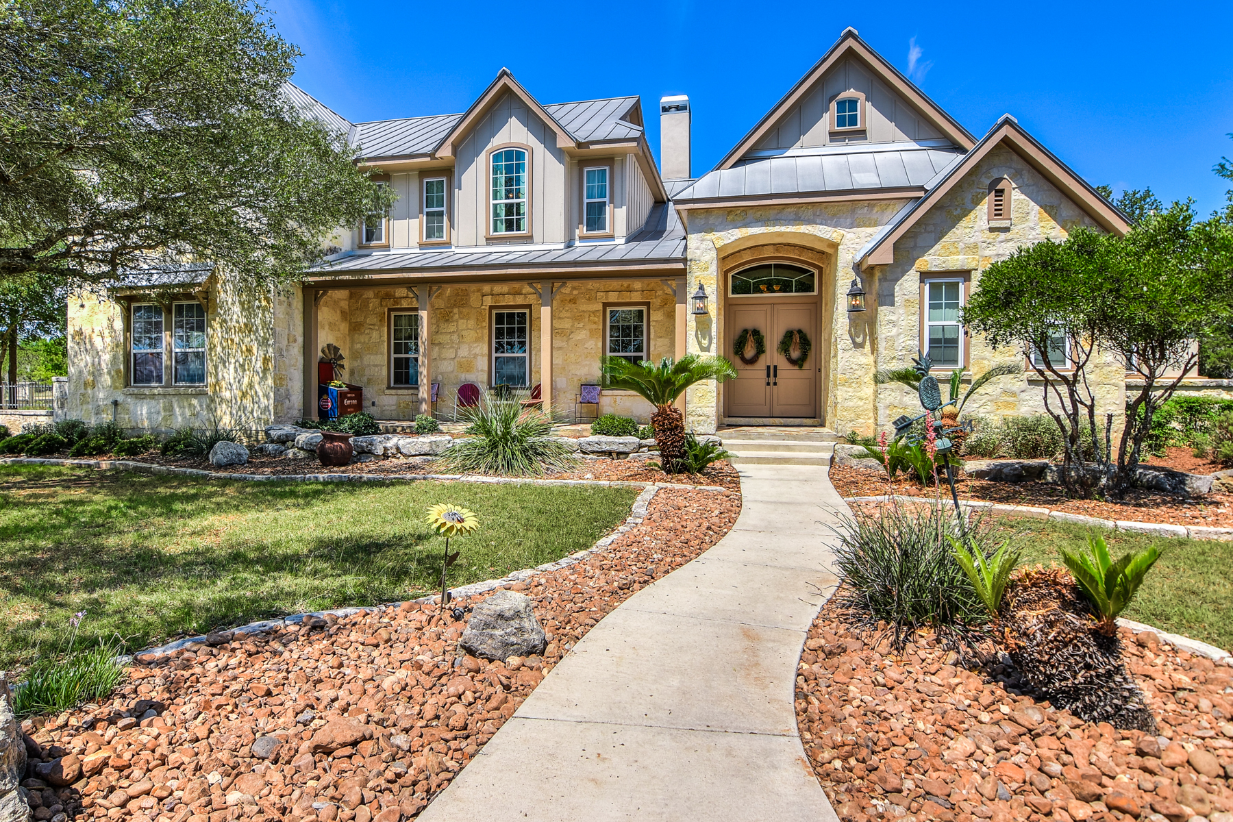Single Family Home for Sale at Beautiful Custom Home in Cordillera Ranch 106 Sage Brush Boerne, Texas 78006 United States