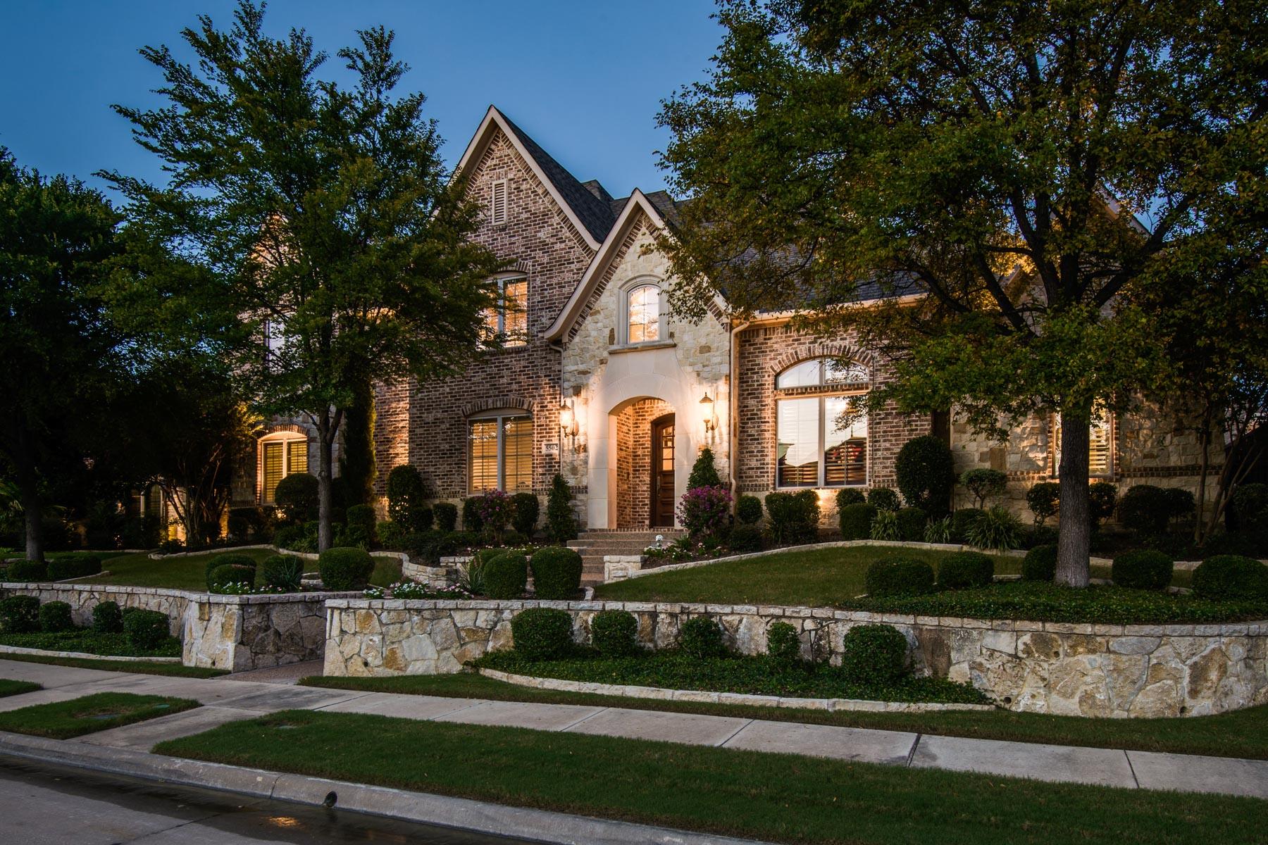 Einfamilienhaus für Verkauf beim Exceptional Starwood Custom Home 5502 Stone Canyon Dr Frisco, Texas, 75034 Vereinigte Staaten