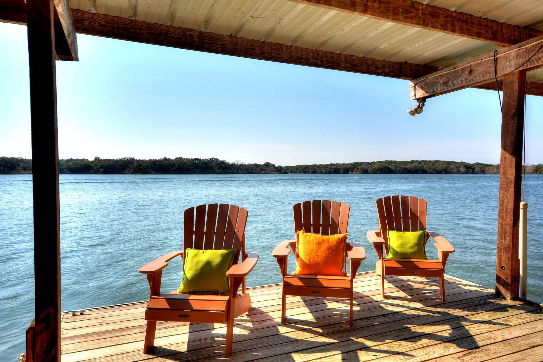 Single Family Home for Sale at Enjoy the Good Life on Lake LBJ 110 Circle Pt Kingsland, Texas 78639 United States