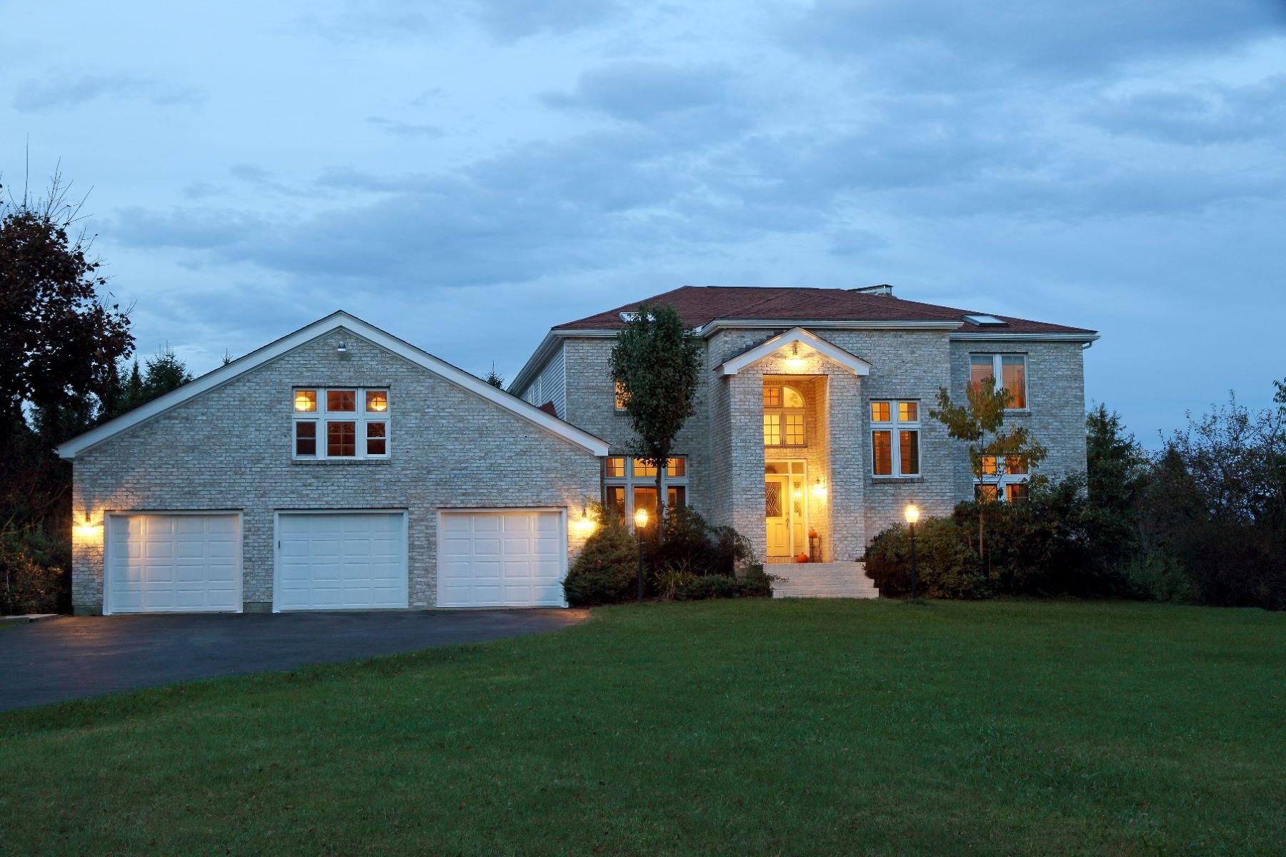 Частный односемейный дом для того Продажа на Country Estate 156 Old Stage, Essex, Вермонт, 05452 Соединенные Штаты