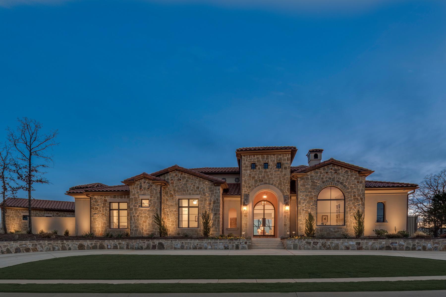 一戸建て のために 売買 アット One Story Custom Home in the Granada Community 2029 Valencia Cv Westlake, テキサス, 76262 アメリカ合衆国