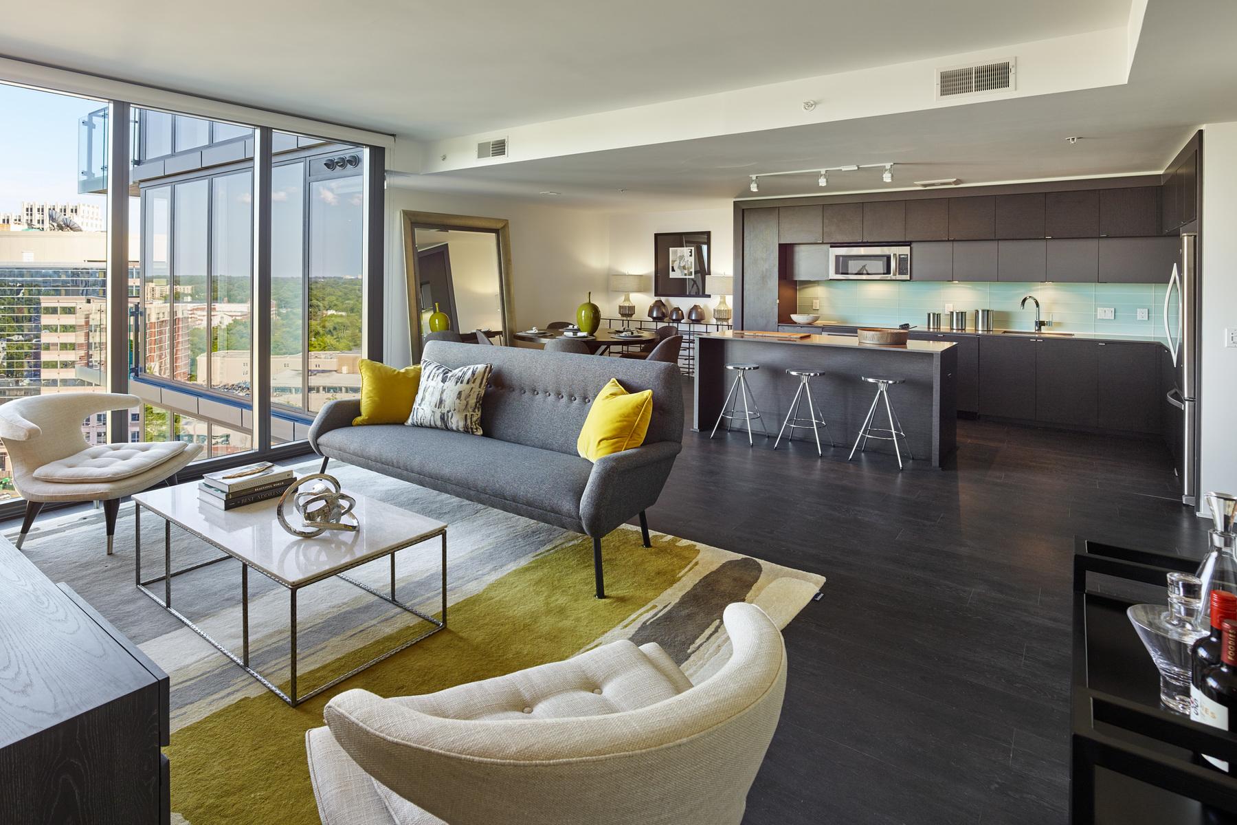Single Family Home for Rent at 7770 Norfolk Avenue 1207, Bethesda 7770 Norfolk Ave 1207 Bethesda, Maryland 20814 United States