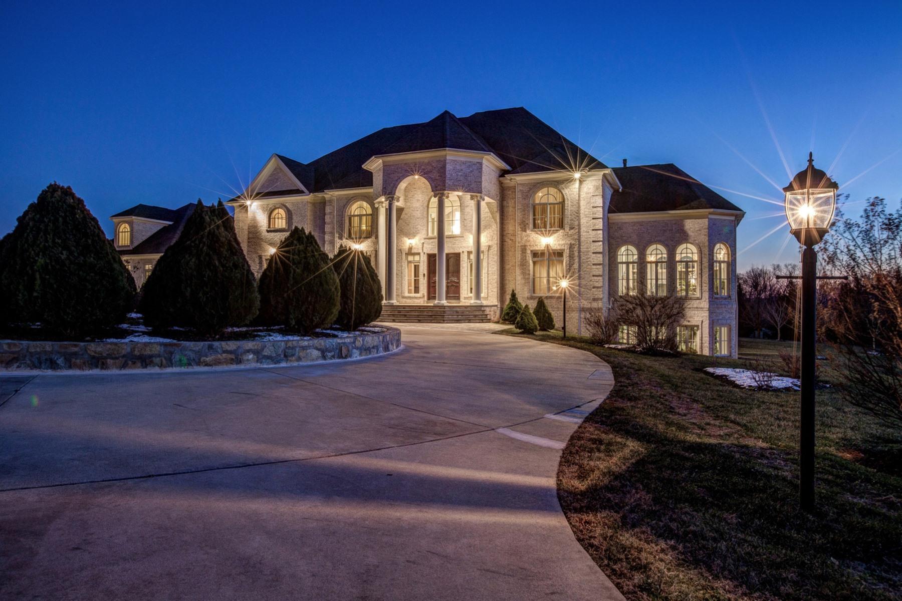 Maison unifamiliale pour l Vente à 13520 Bella Notte Way, Clarksville Clarksville, Maryland 21029 États-Unis