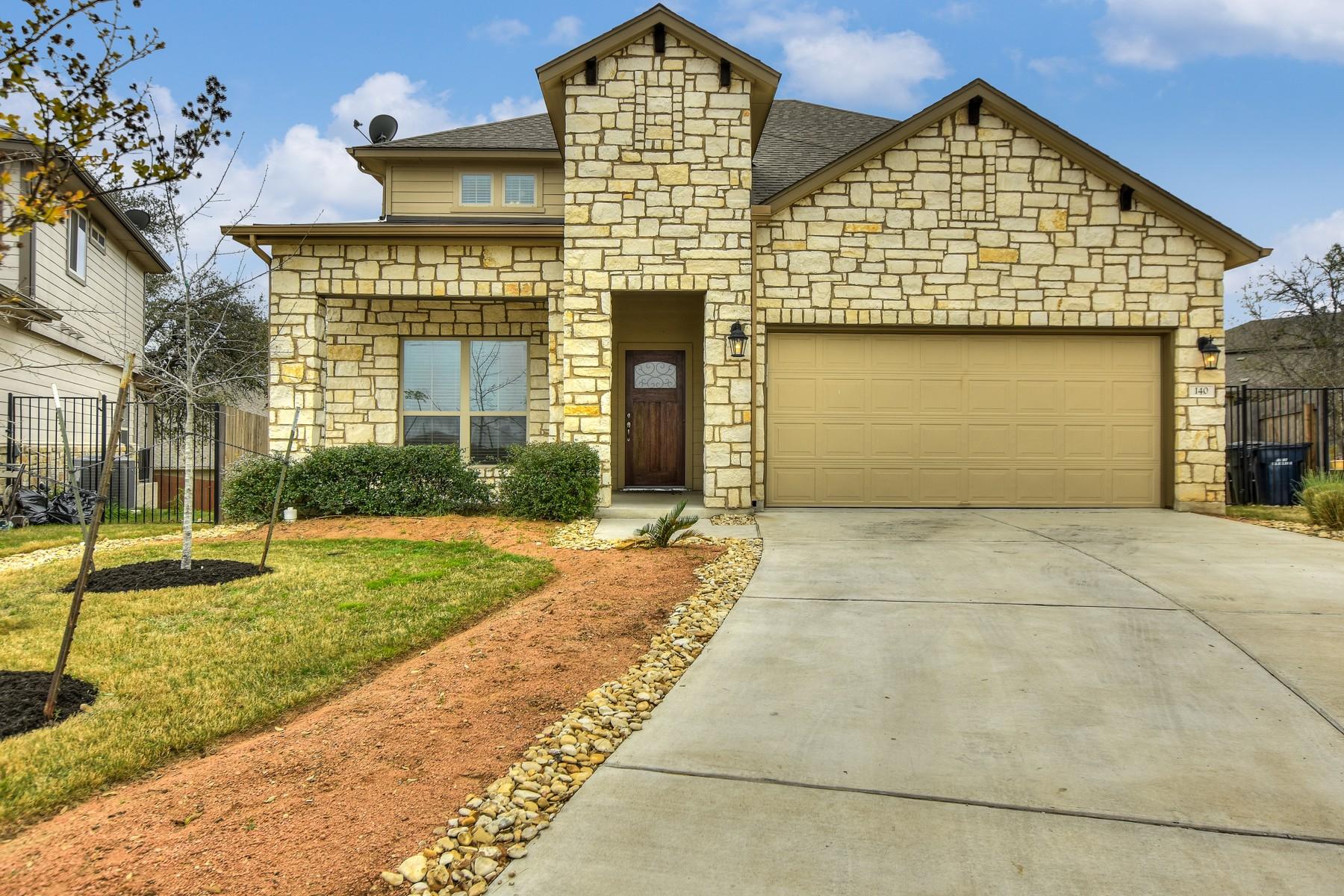 Casa Unifamiliar por un Venta en Beautiful Two Story in Rancho Sienna 140 Fosini Cv Georgetown, Texas 78628 Estados Unidos
