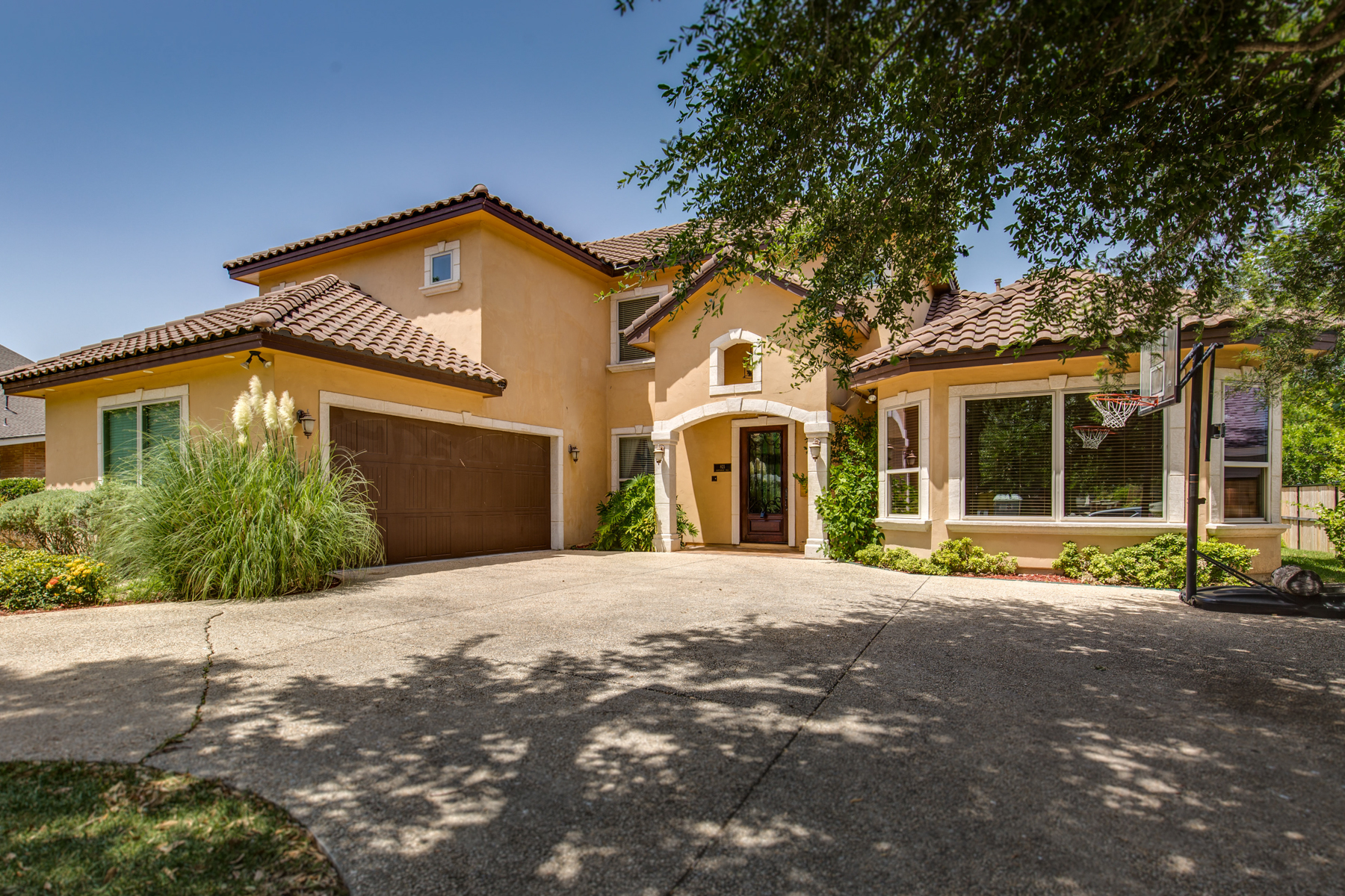 Single Family Home for Sale at Grand Mediterranean Estate in Terrell Hills 821 Canterbury Hill St San Antonio, Texas 78209 United States