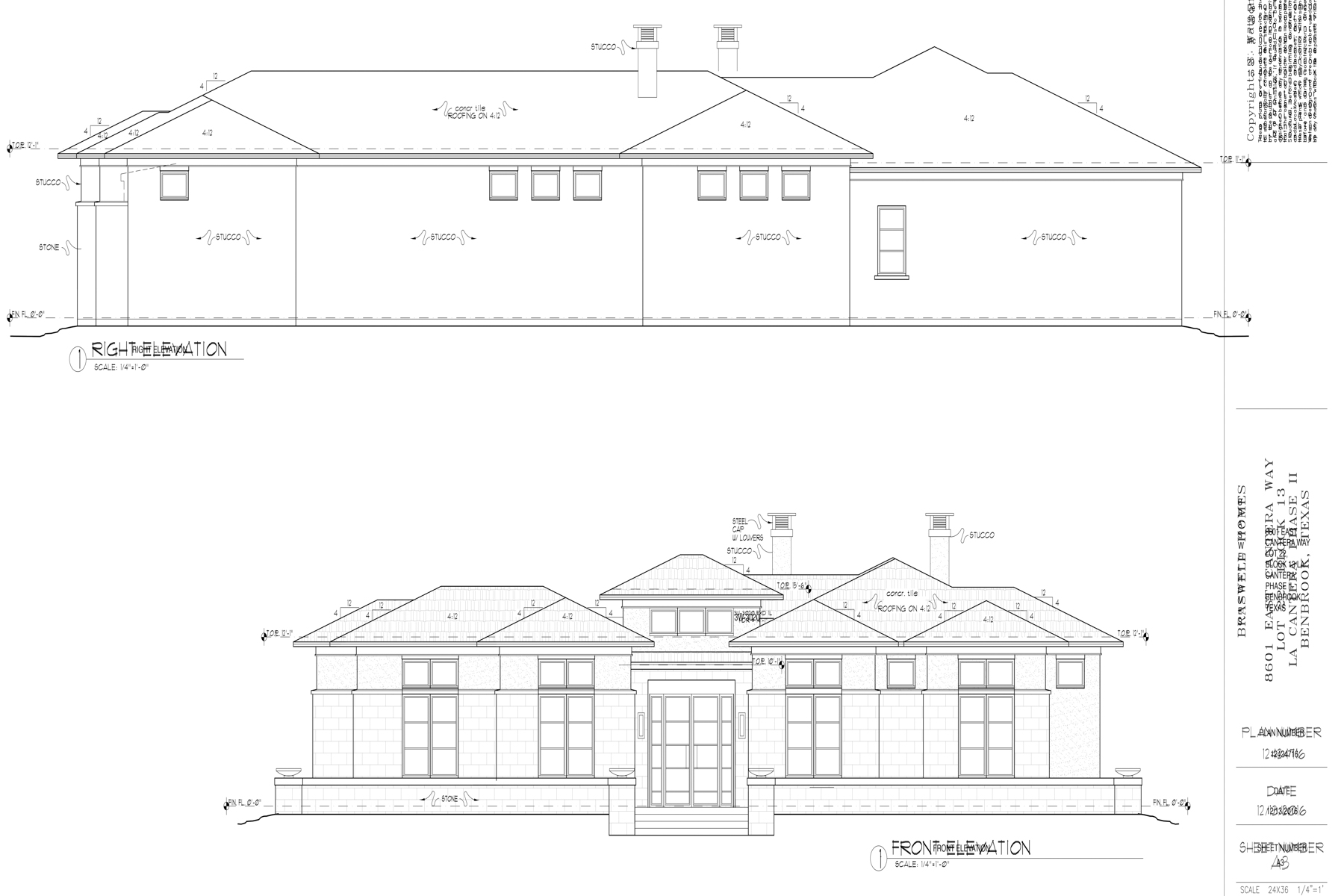 Single Family Home for Sale at New Construction in La Cantera at Team Ranch 8601 E Cantera Way Benbrook, Texas, 76126 United States