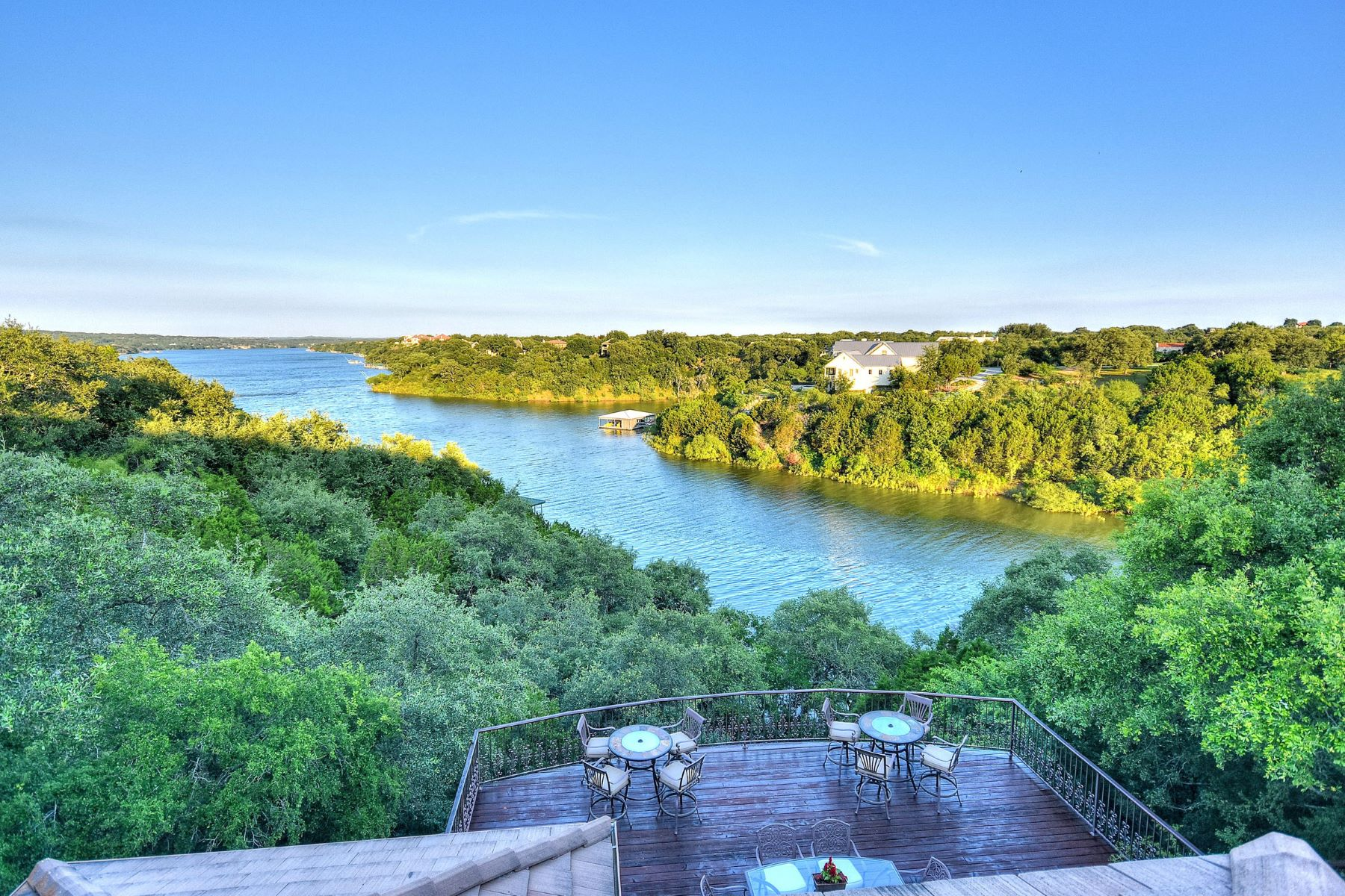 Single Family Home for Sale at The Ideal Lakeside Retreat 2703 Sailboat PASS Spicewood, Texas, 78669 United States