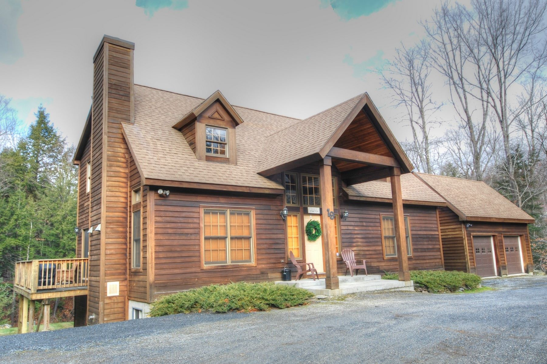 Single Family Home for Sale at 19 Todd Hill Road, Winhall 19 Todd Hill Rd Winhall, Vermont, 05340 United States