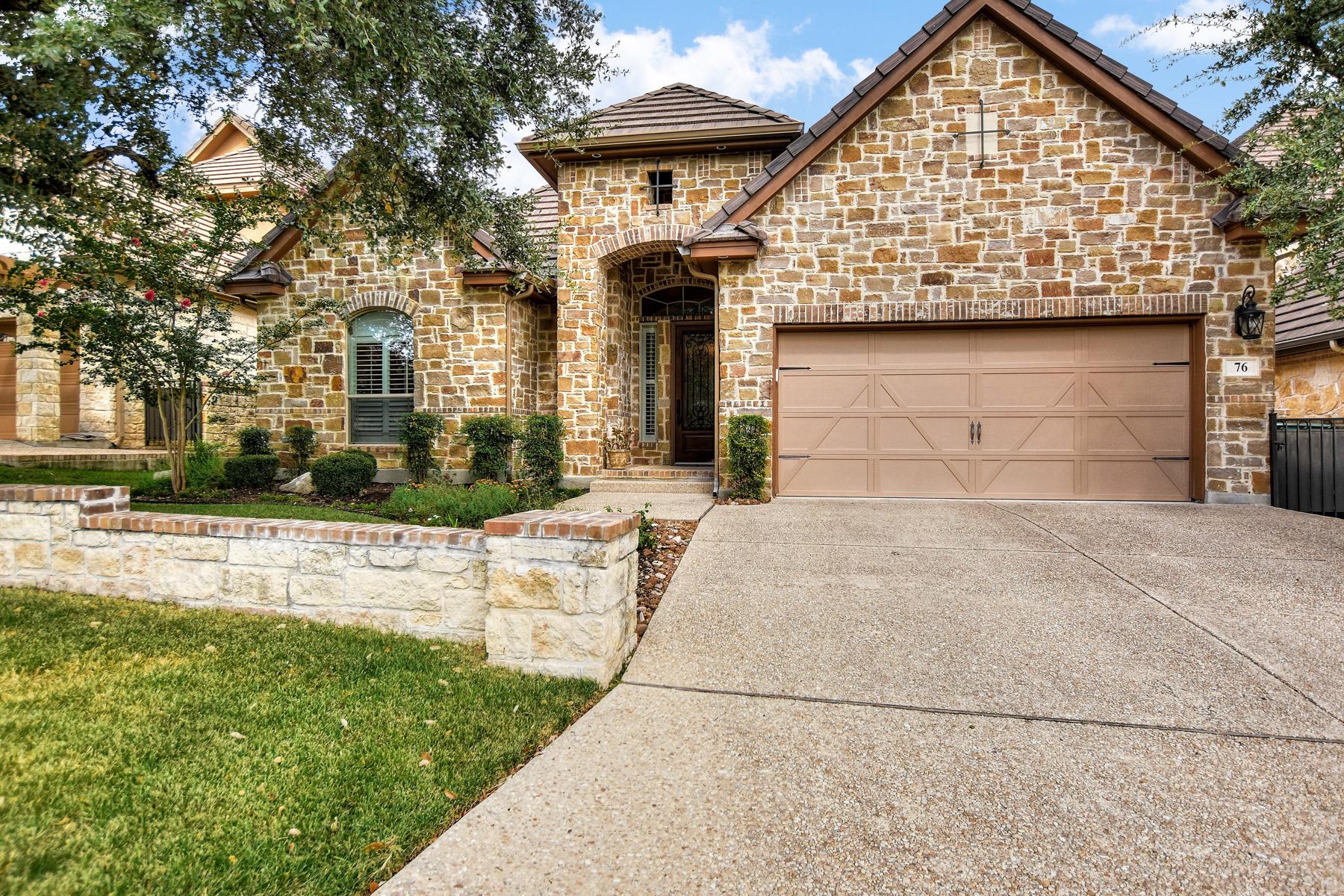 Casa Unifamiliar por un Venta en Beautiful Single-Story Home in The Dominion 76 Westcourt Ln San Antonio, Texas 78257 Estados Unidos