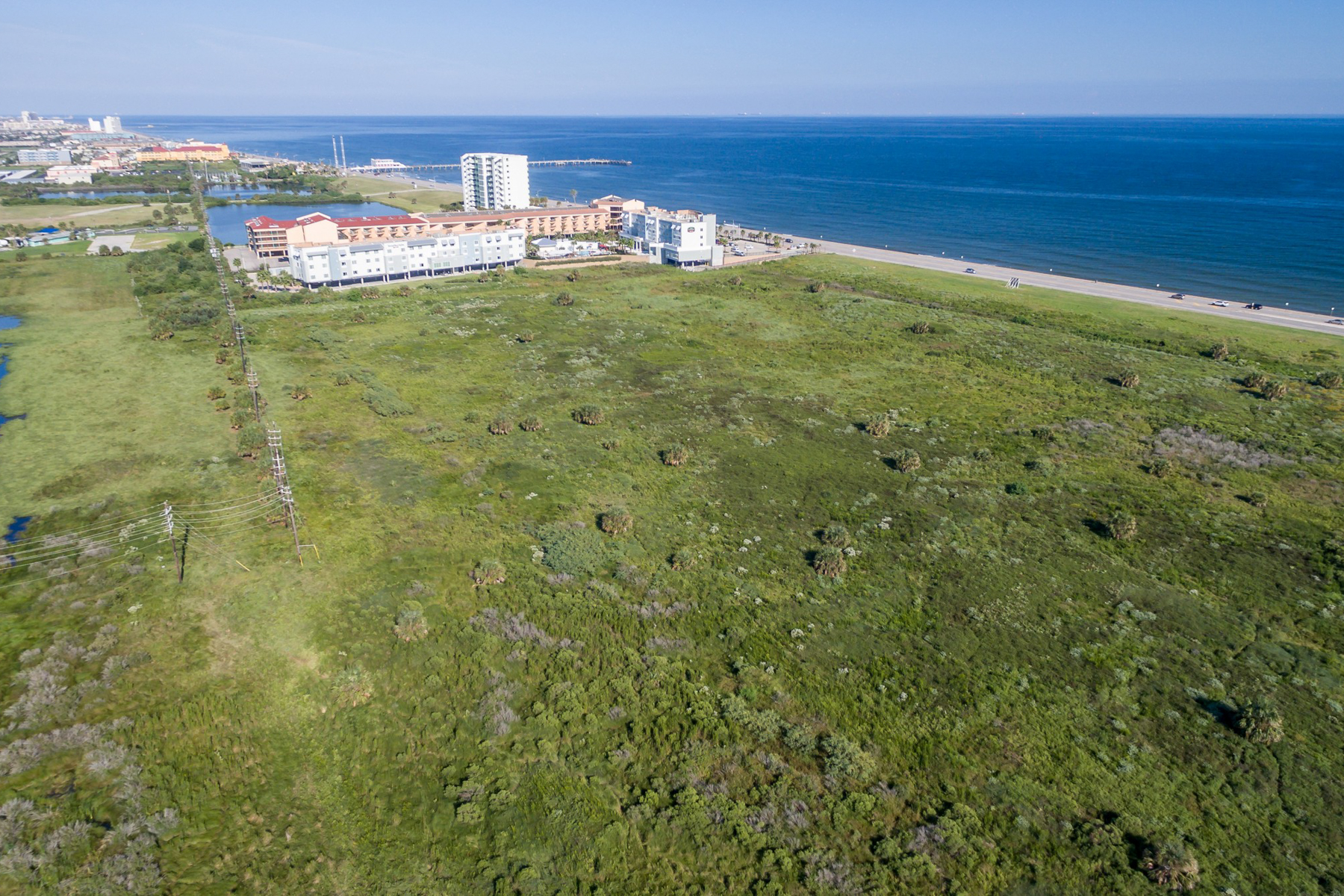 Land for Sale at 42+ Acres Commercial Tracts on Galveston Island 51.67 +/- Acres - Galveston Co Galveston, Texas 77554 United States
