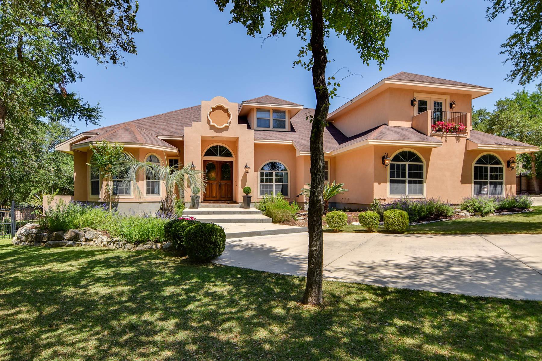 Casa Unifamiliar por un Venta en Tranquil Home in Gated Community in Garden Ridge 19819 Zephyr Cv Garden Ridge, Texas 78266 Estados Unidos