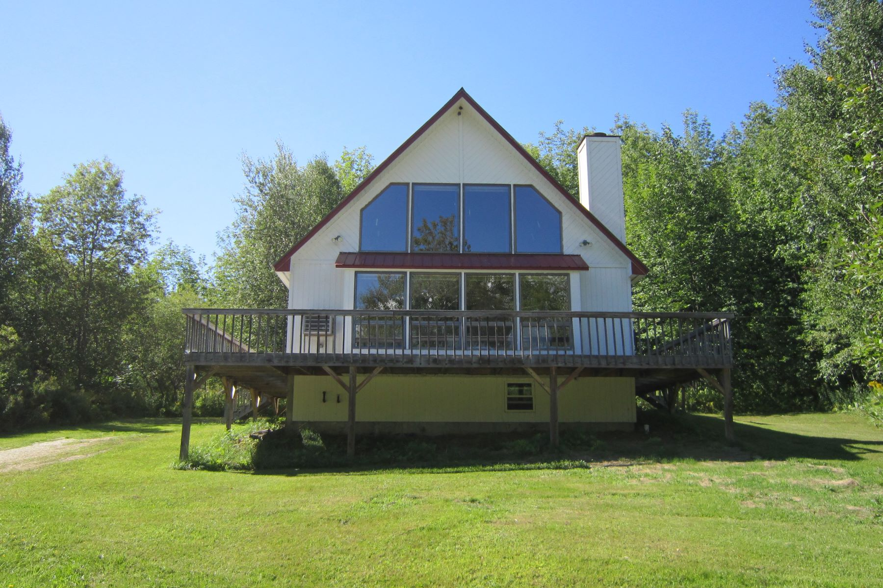 Vivienda unifamiliar por un Venta en Mountain View Country Home 698 South Hill Rd Ludlow, Vermont, 05149 Estados Unidos