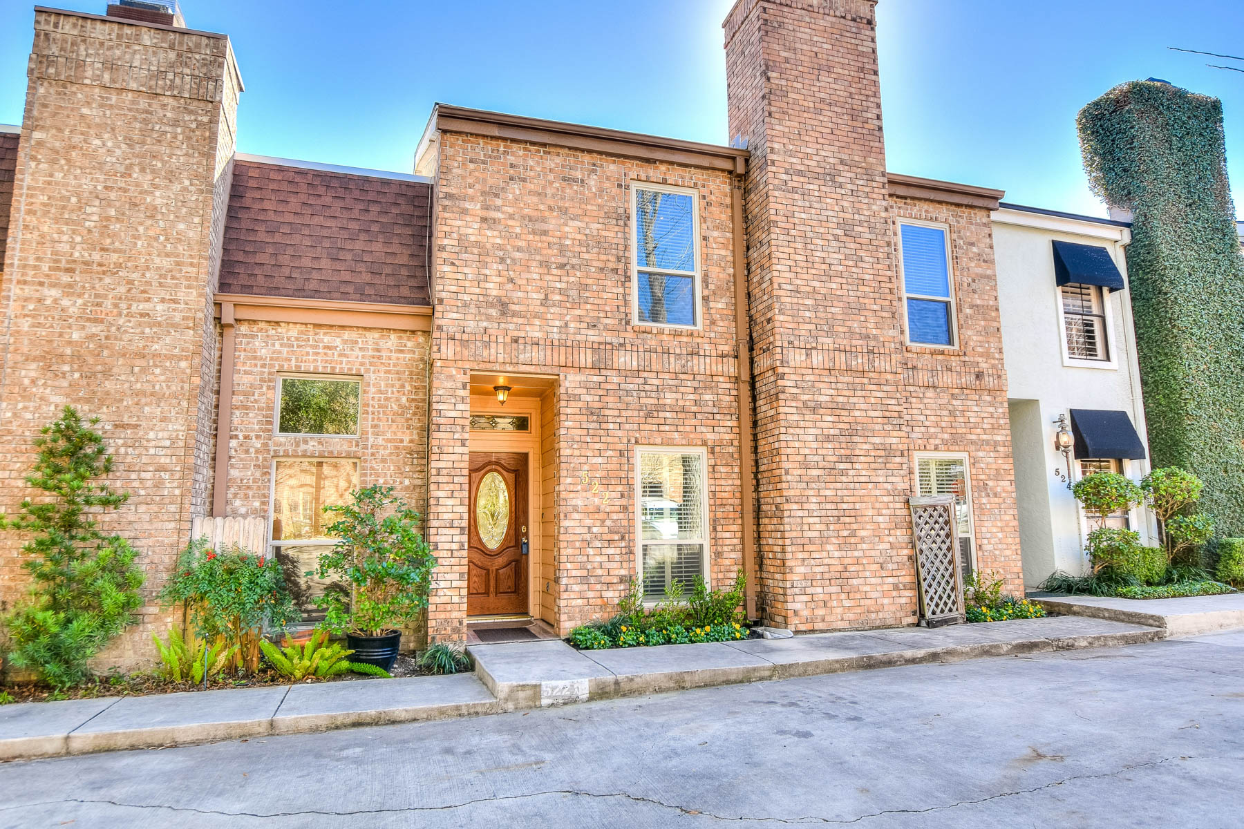 Townhouse for Sale at Townhome in Coveted Olmos Park 522 Thelma Dr San Antonio, Texas 78212 United States