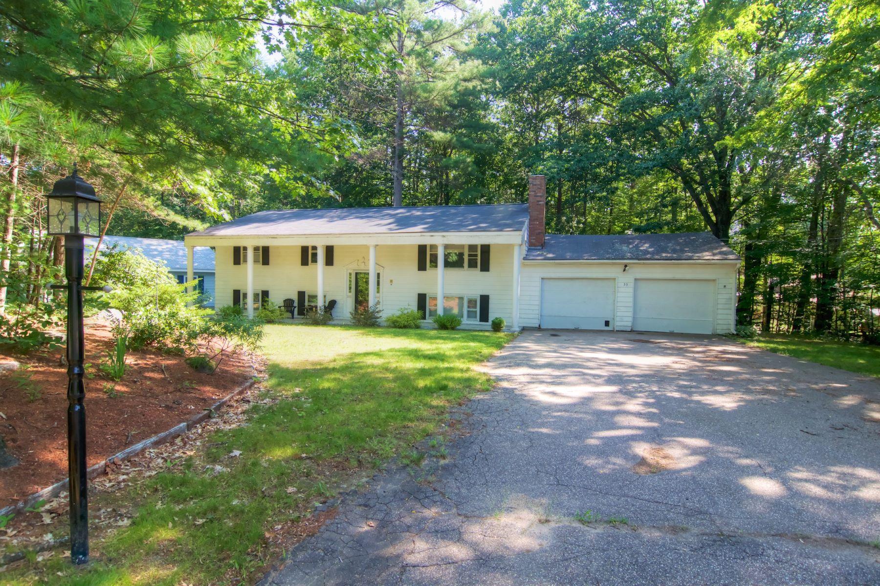 Частный односемейный дом для того Продажа на 33 Woodvale, Laconia Laconia, Нью-Гэмпшир, 03246 Соединенные Штаты