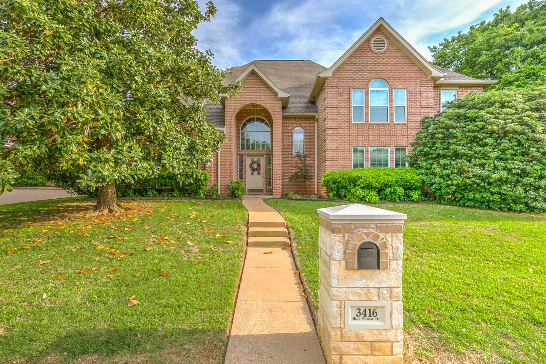 단독 가정 주택 용 매매 에 3416 Blue Forest Dr, Arlington Arlington, 텍사스, 76001 미국