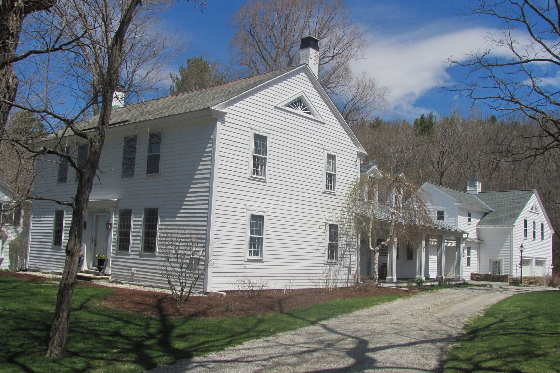 Single Family Home for Sale at Masterfully Restored Colonial in Dorset Village 3478 Route 30 Dorset, Vermont 05251 United States