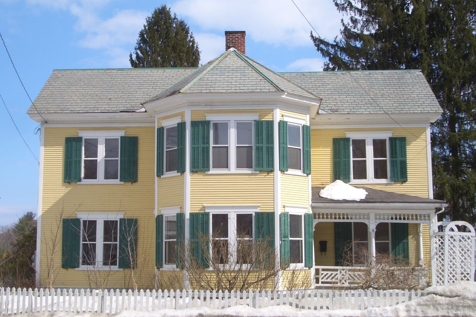 Single Family Home for Sale at 153 North Main Street, Fair Haven Fair Haven, Vermont 05701 United States