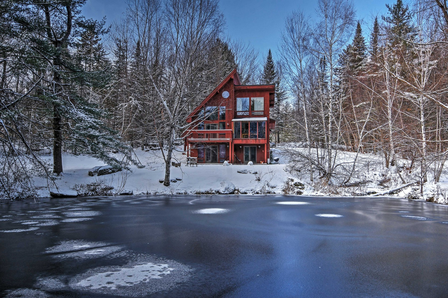 Single Family Home for Sale at 474 Hollow View Road, Stowe 474 Hollow View Rd Stowe, Vermont 05672 United States