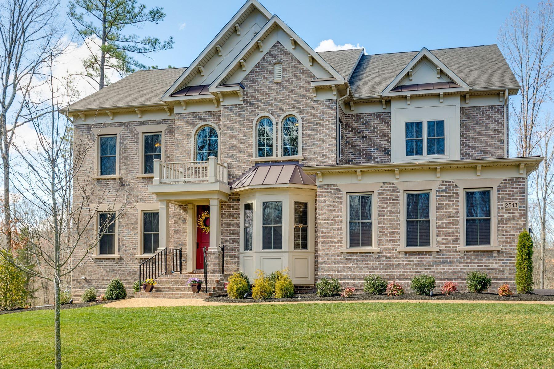 独户住宅 为 销售 在 Championship Golf Course Community 2513 Michaux Valley Way 中洛锡安郡, 弗吉尼亚州, 23113 美国