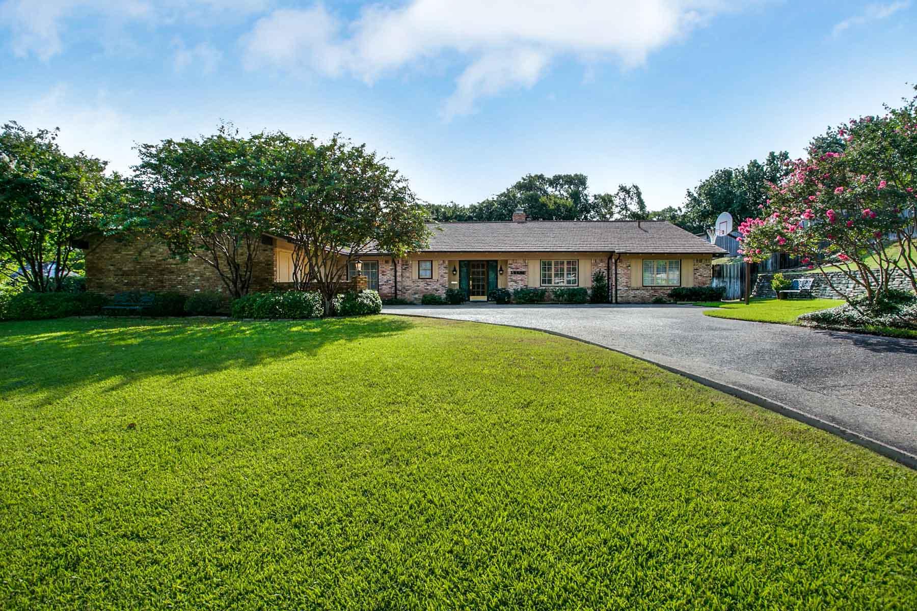 Casa Unifamiliar por un Venta en 4109 Sarita Drive, Fort Worth Fort Worth, Texas, 76109 Estados Unidos