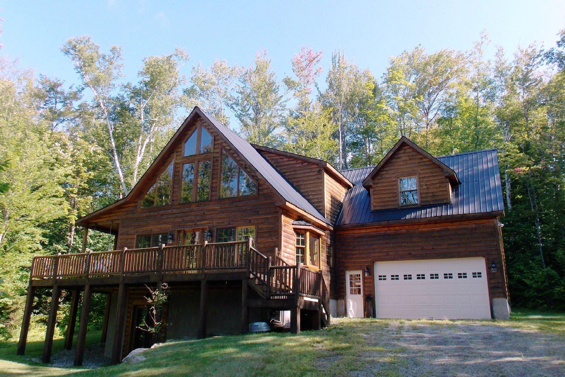Maison unifamiliale pour l Vente à Beautiful Vacation Home 380 Wonder Ln Jamaica, Vermont, 05343 États-Unis