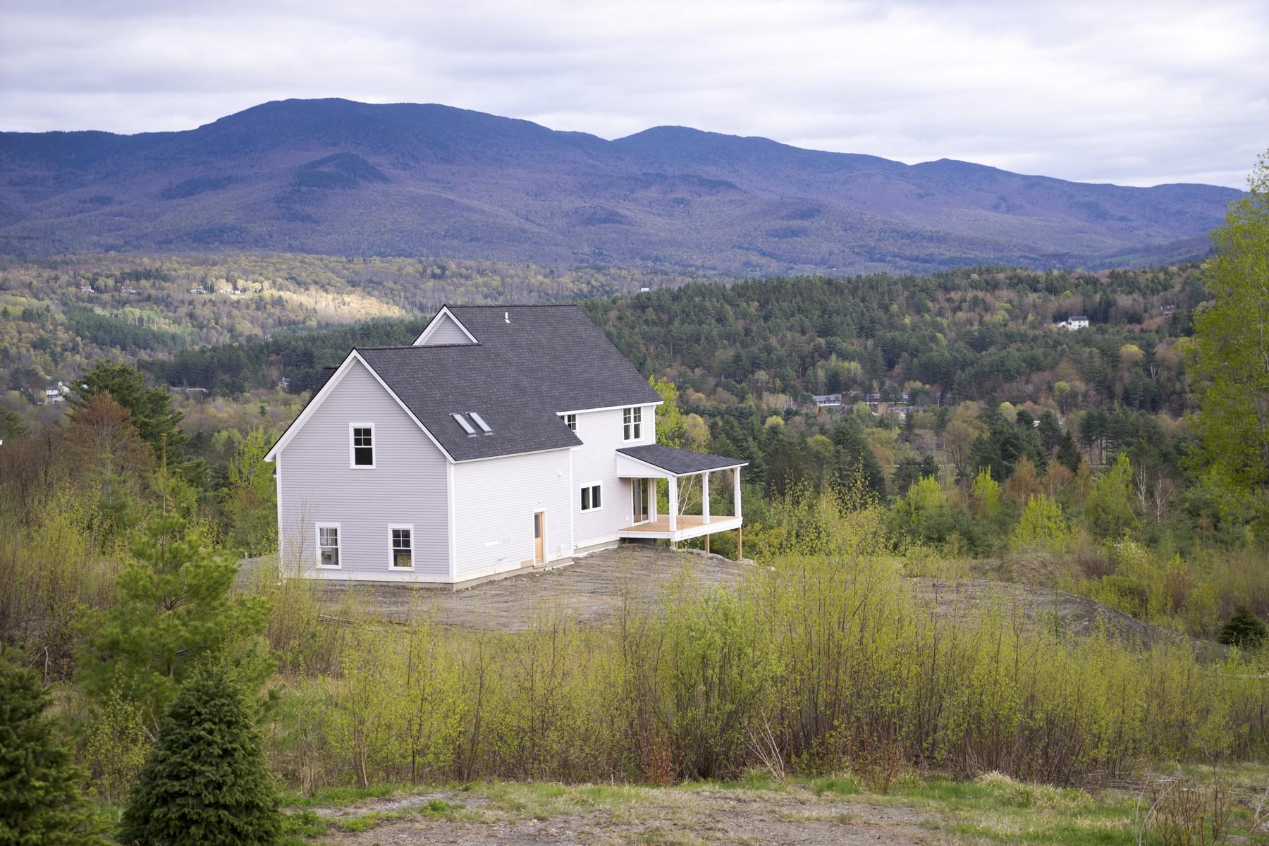 Maison unifamiliale pour l Vente à 98 Benjamin Trail Lot 1B-11, Stowe 98 Benjamin Trl Lot 1B-11 Stowe, Vermont, 05672 États-Unis