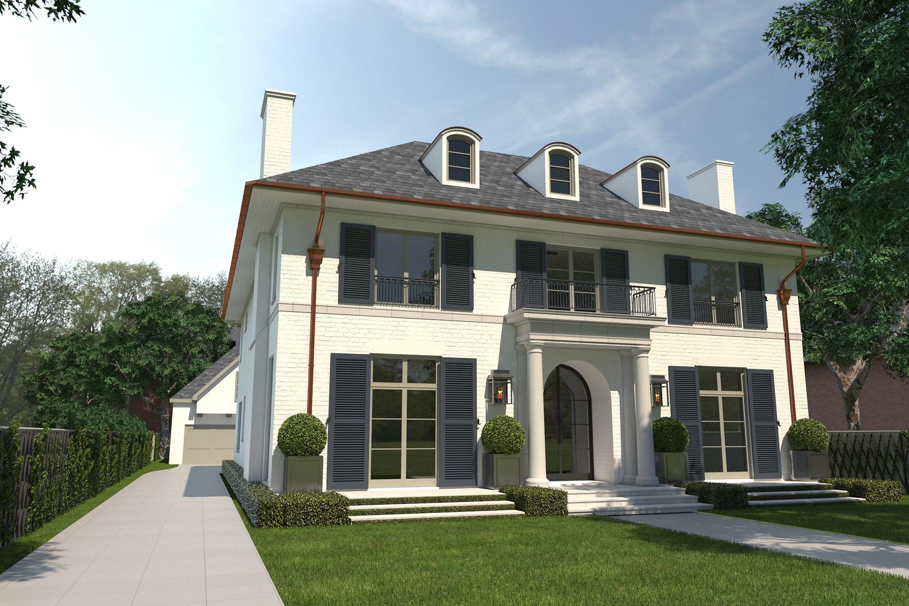 Einfamilienhaus für Verkauf beim 4415 Lorraine, Dallas Dallas, Texas, 75205 Vereinigte Staaten