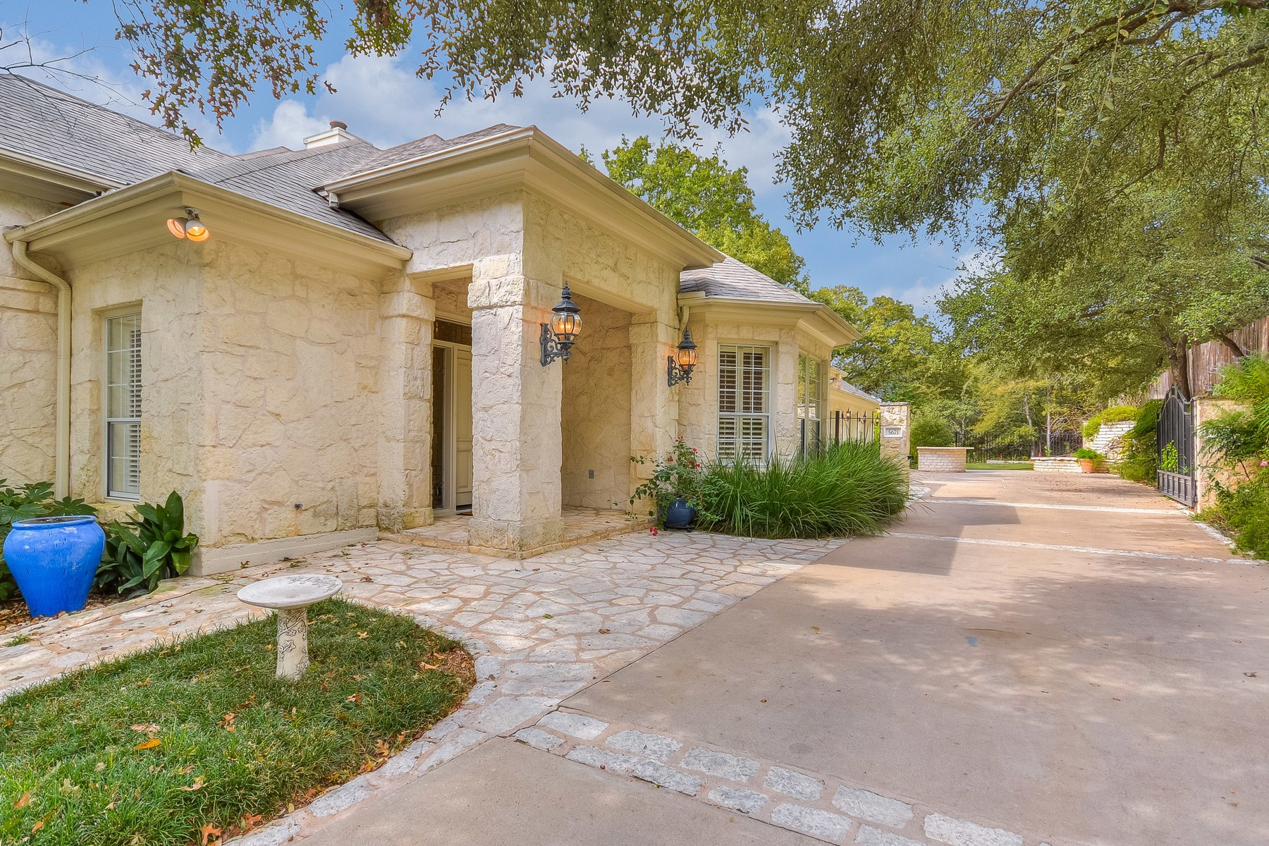 Single Family Home for Sale at Texas Hill Country with a French Flare! 5671 Rain Creek Pkwy Austin, Texas 78759 United States