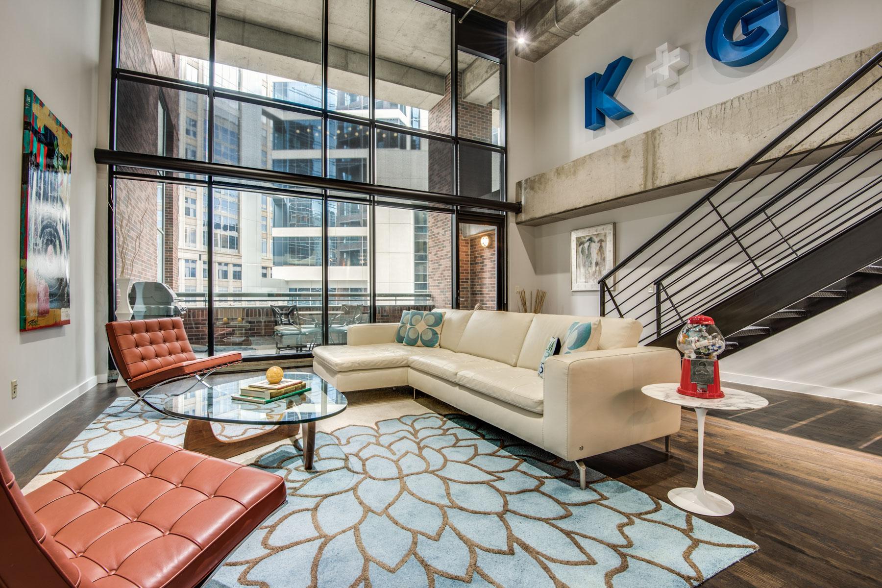 独户住宅 为 销售 在 1999 McKinney Condominium 1999 McKinney Ave 405 达拉斯, 得克萨斯州, 75201 美国