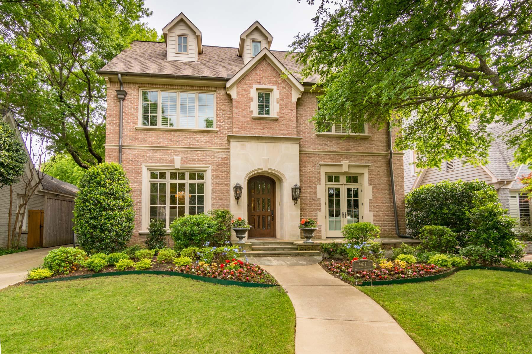 Einfamilienhaus für Verkauf beim Your Wish List Fulfilled 4417 Southern Ave Dallas, Texas, 75205 Vereinigte Staaten