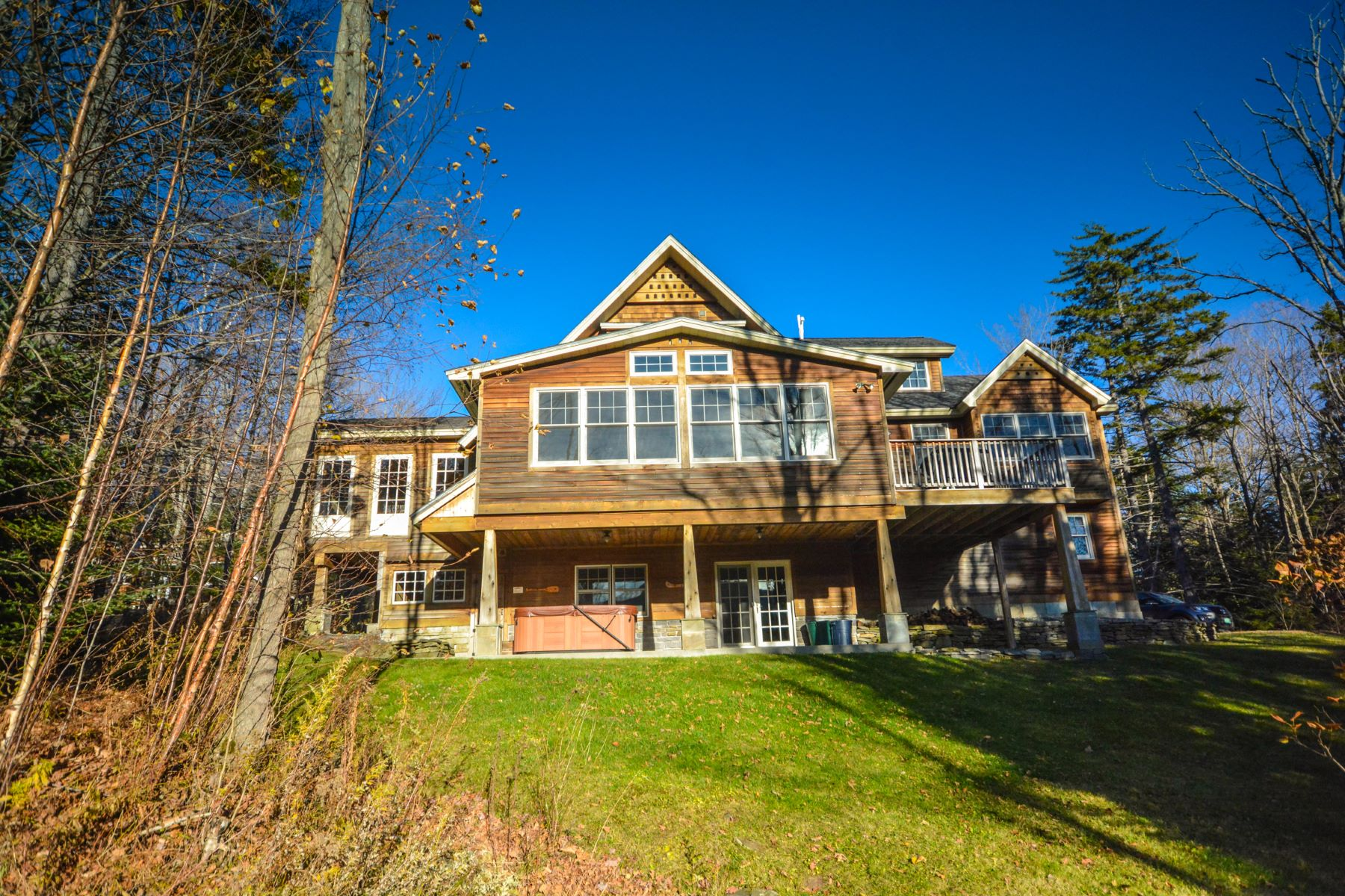 Single Family Home for Sale at Amazing Mount Snow Access and Views 9 Lower Highlands Rd Dover, Vermont, 05356 United States