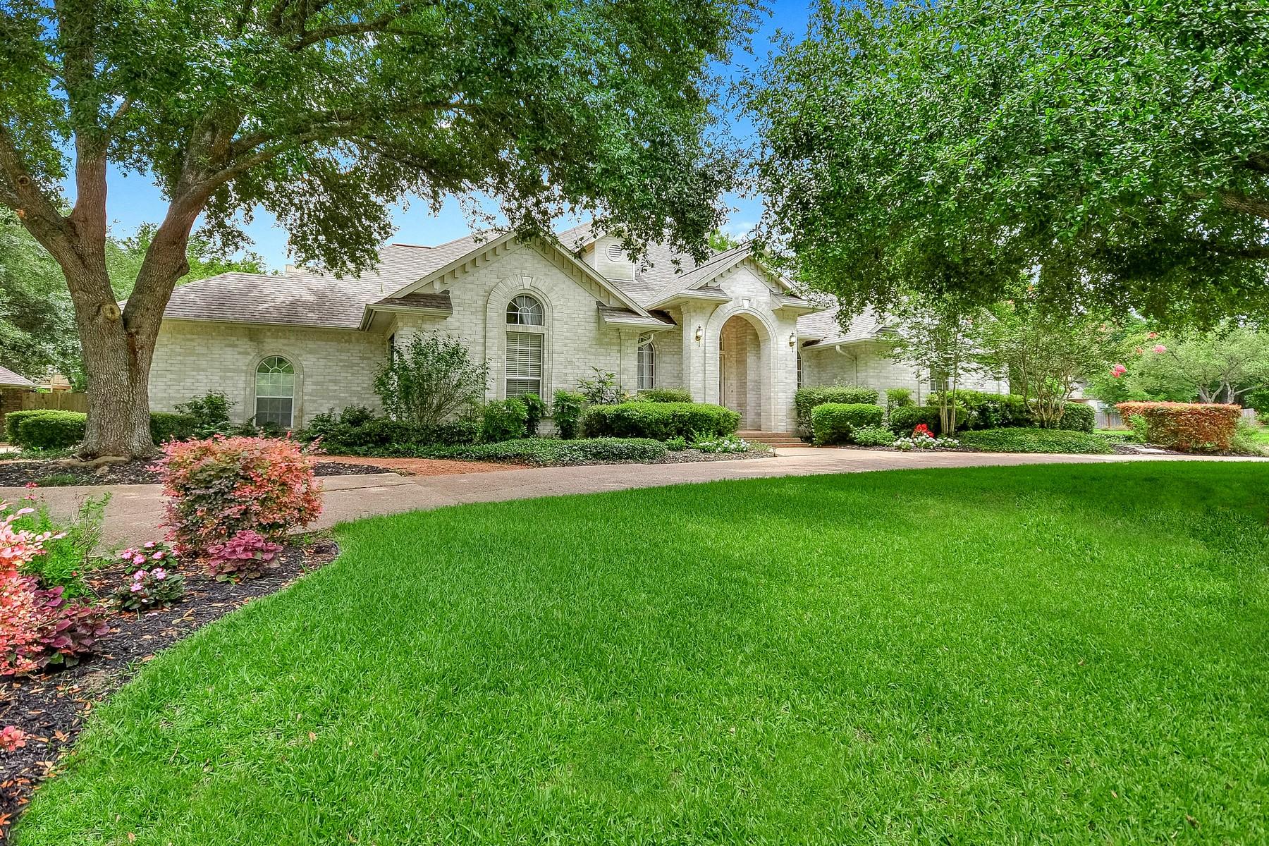 Casa Unifamiliar por un Venta en Traditional Ranch Style Home in Round Rock 2 Ridgemeadow Way Round Rock, Texas 78664 Estados Unidos