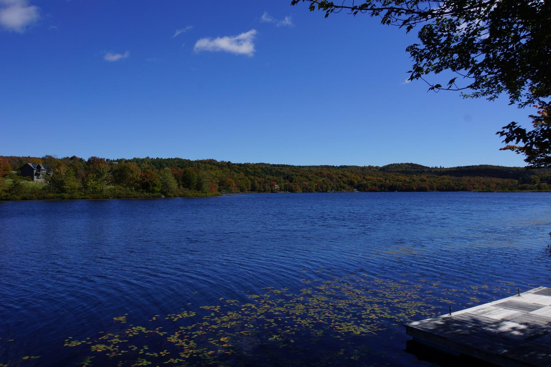 Nhà ở một gia đình vì Bán tại Wonderful Lakefront Log Cabin 143 Tyanoga Whitingham, Vermont, 05361 Hoa Kỳ