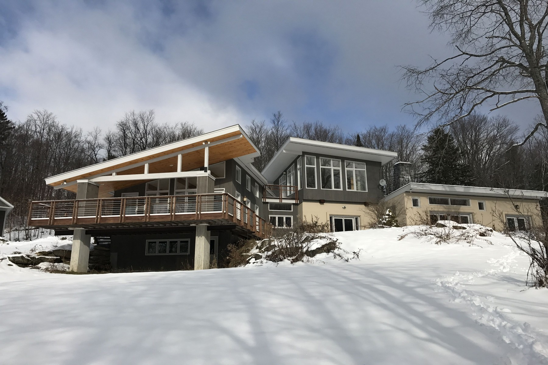 Single Family Home for Sale at 30+ Acre Private Estate 813 Ccc Rd Shrewsbury, Vermont, 05738 United States