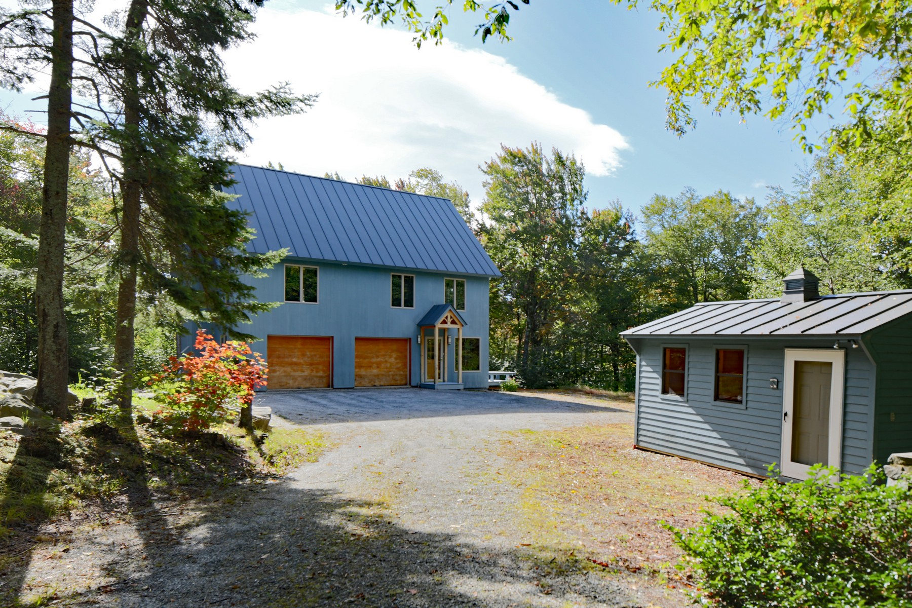 Single Family Home for Sale at Exquisite Davis Frome on 29 Acres 749 Old Weston Mountain Ludlow, Vermont, 05149 United States